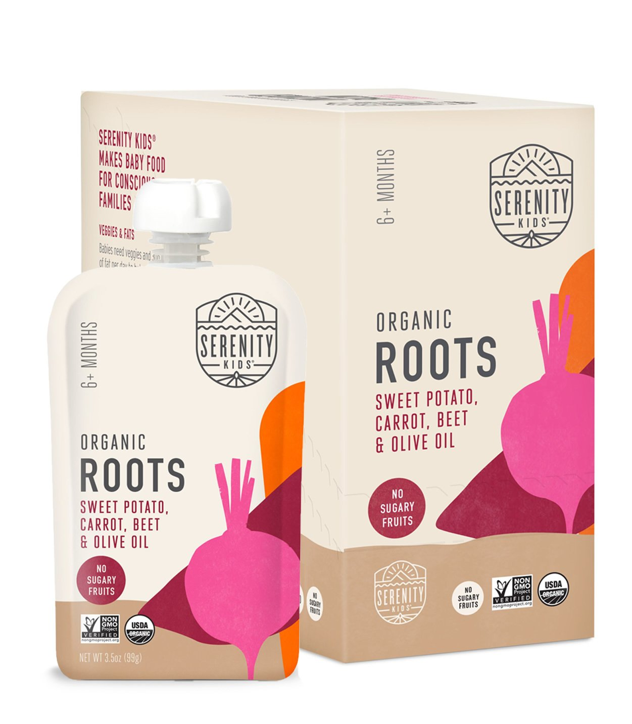 Serenity Kids Organic Roots Baby Food