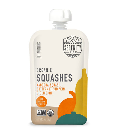 Baby Food - Organic Squashes