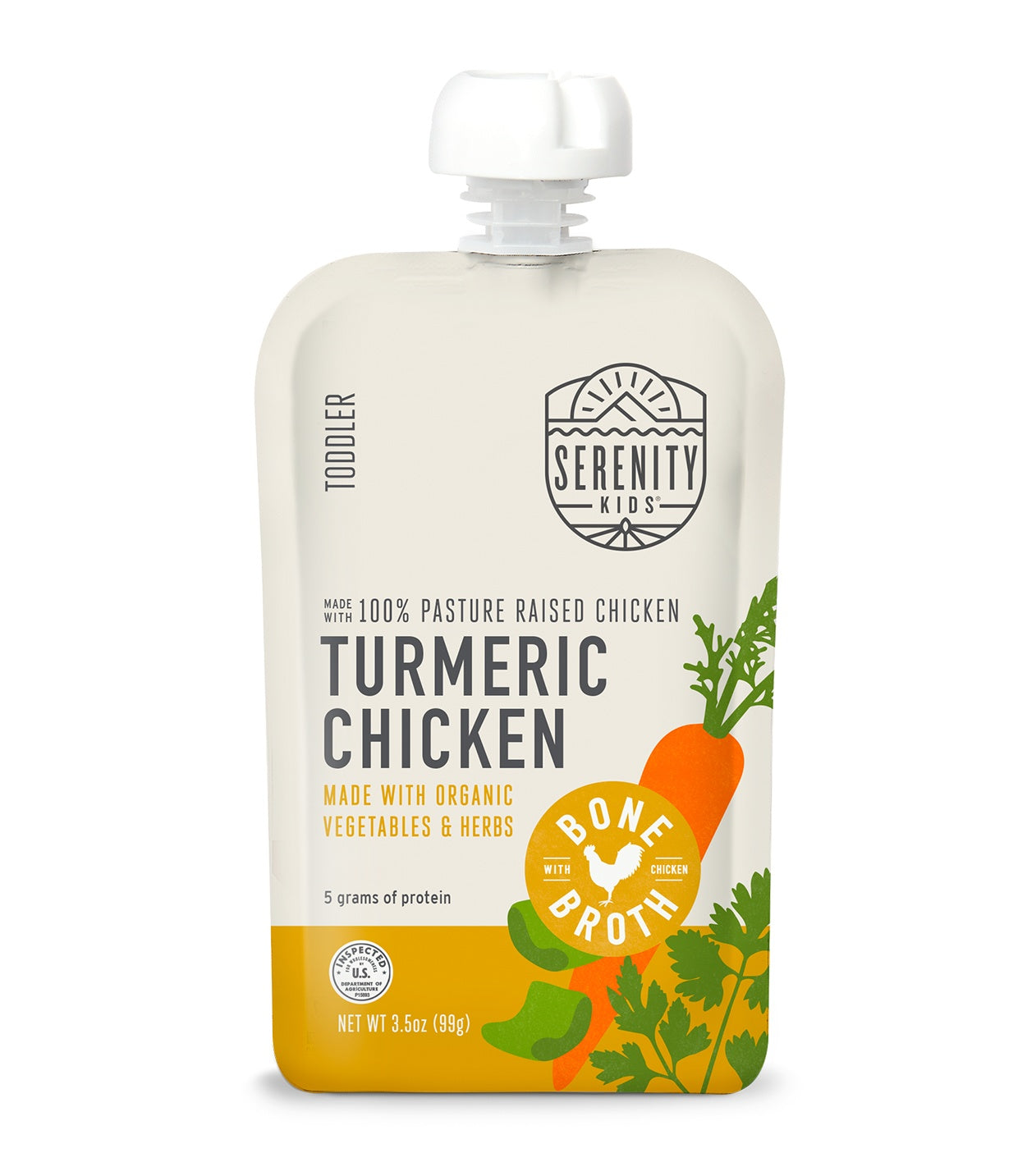 Turmeric Chicken with Bone Broth