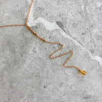 Serenity Y Drop Necklace