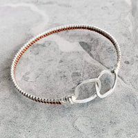 NEW Opulent Bangle Bracelets - Sterling
