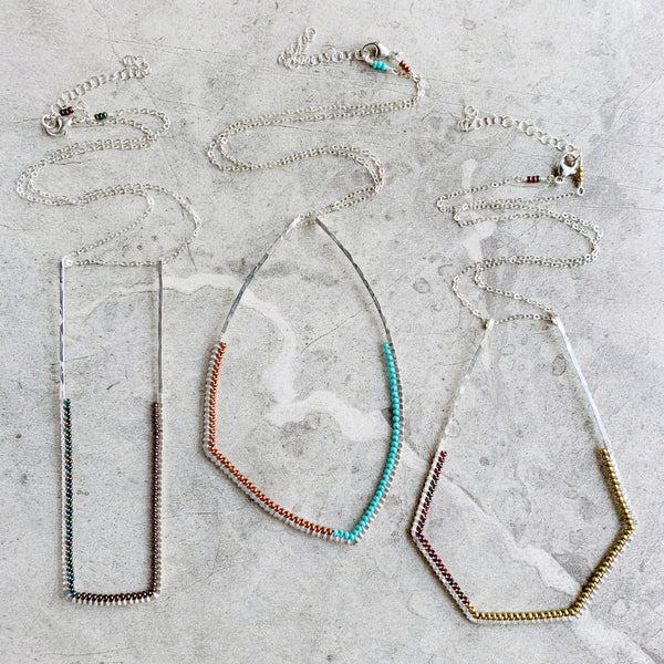 NEW Opulent Sterling Pendant Necklaces