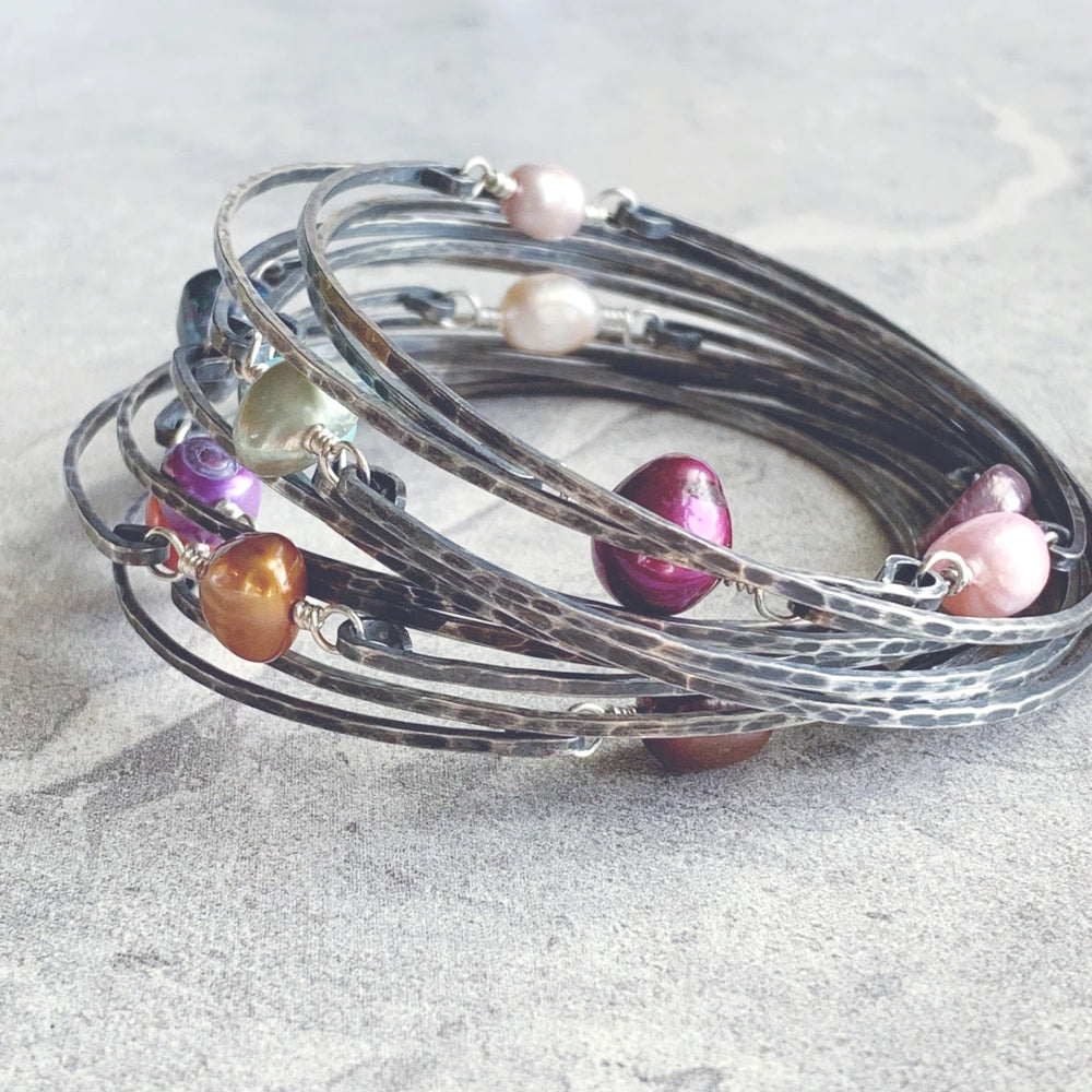 NEW Decadent Bangle Bracelets - Sterling