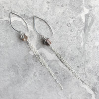 Eloquent II Earrings - Sterling