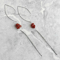 Eloquent Earrings - Sterling