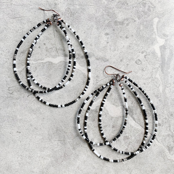 Harmony Triple Hoop Earrings