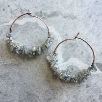 Jubilant Hoop Earrings