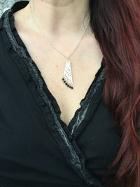 Angel Wing Delicate Pendant Necklace with Czech Preciosa Crystals