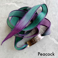 Motivational Silk Wrap Bracelet