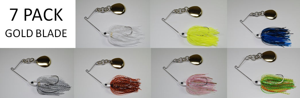 Original Cyclebait 3/8 oz - Seven Bait Value Pack - One in each color. SALE!