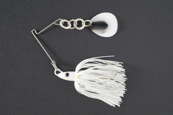 CycleBait SwingBack 1/2-oz - Click then choose blade size and skirt color