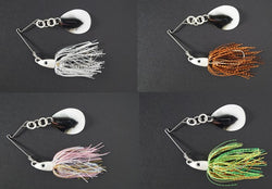 CycleBait SwingBack 1-oz  - Value Pack:  Silver Shad/Spring Craw/Pink Shad/Fire Tiger