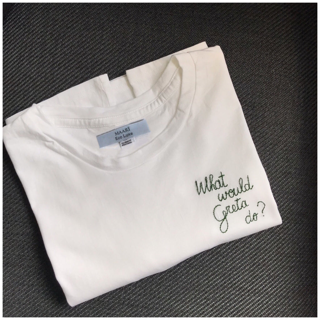 What would Greta do? Tee