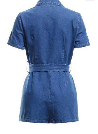 70's Denim Romper