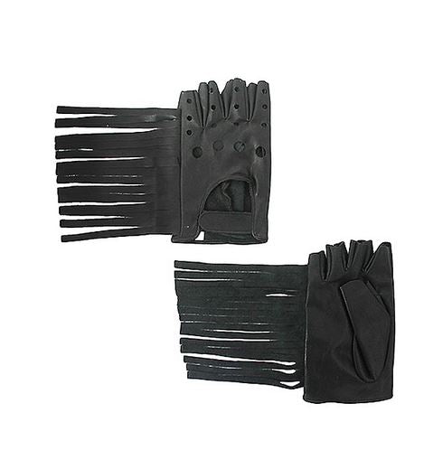 Fringe Leather Gloves - 4ever Unicorn Fashion