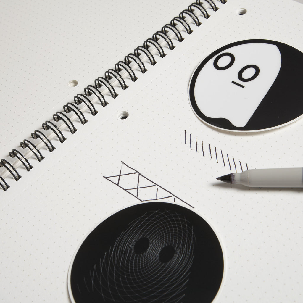 Dot Grid Book Mini: Ghostly Edition
