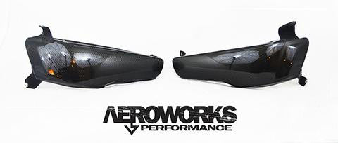 Aeroworks Performance Evo 10 Headlight Deletes/Ducts
