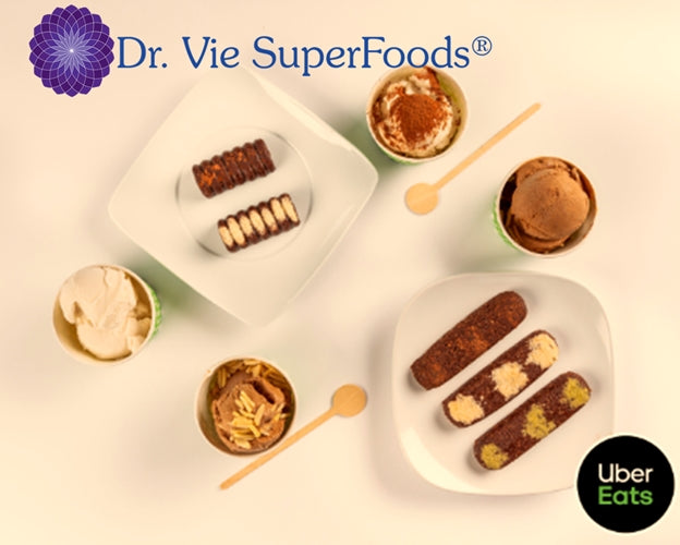 Dr. Vie SuperFoods Natural Healthy Delicious Sugar and Gluten Free  Indulgence