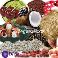Dr Vie Superfoods ingredients gluten free vegan low GI