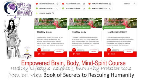 Healthy Body Mind Spirit Online Course with Dr. Vie Academy