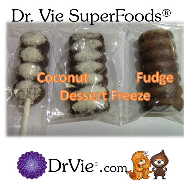 Since 2004 Guilt Free Dr. Vie SuperFoods No Added Sugar Gluten, Fresh Vegan Naturally Delicious