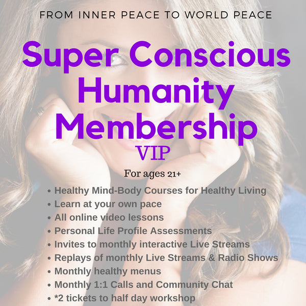 Super Conscious Online Membership and 1:1 Support: VIP