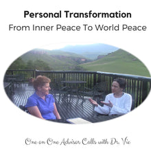 Load image into Gallery viewer, Consultation: Personal Transformation Calls with Dr. Vie