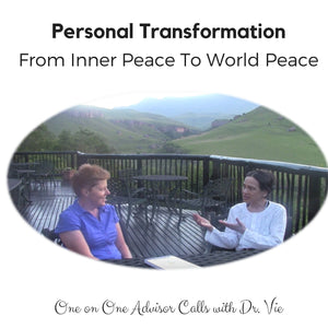 Consultation: Personal Transformation Calls with Dr. Vie