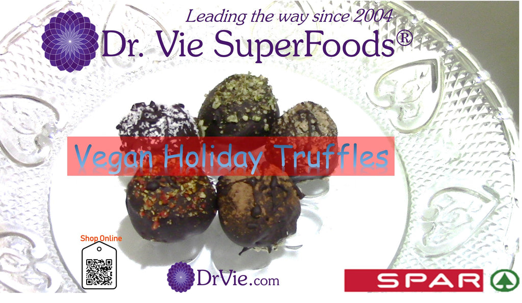 Vegan Gluten-Free Truffles To Celebrate Indulgence and Health