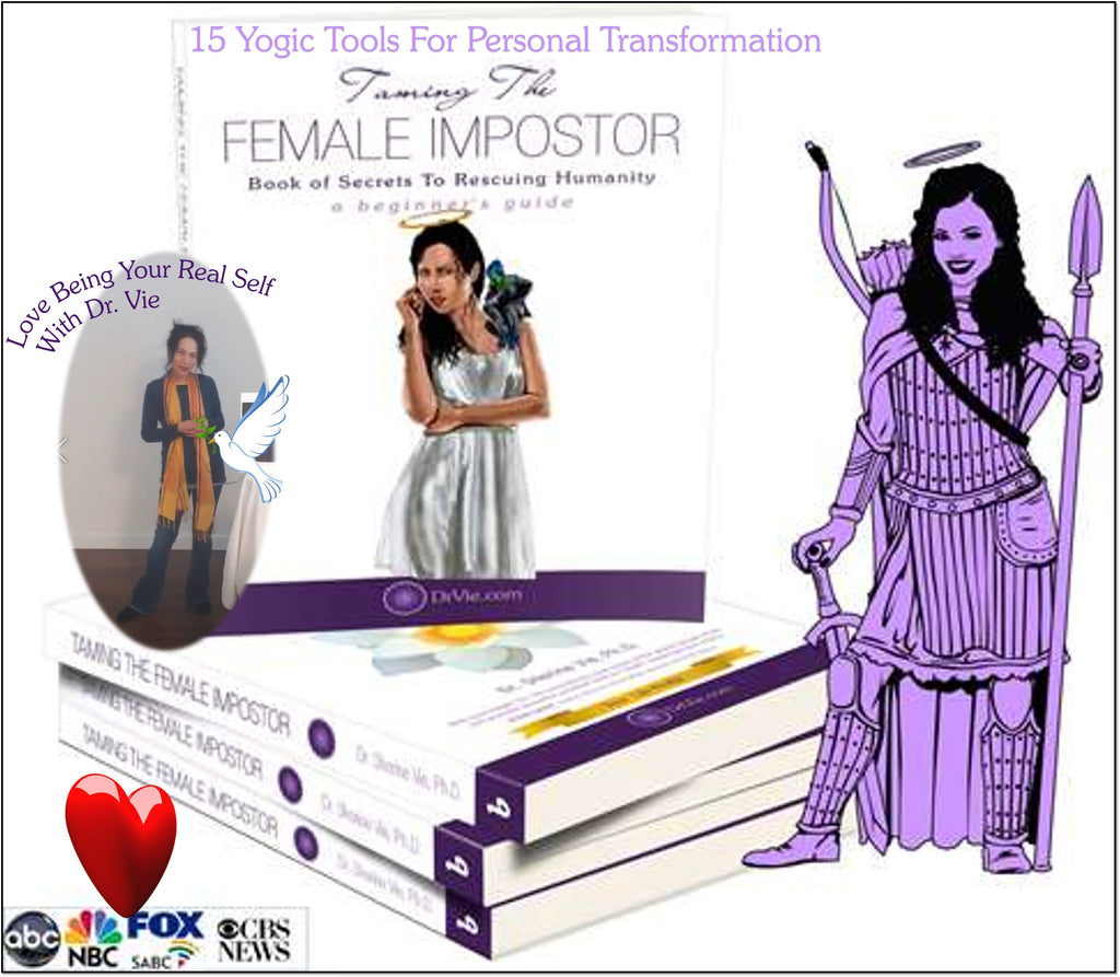 Dr. Vie's Personal Transformation Guide Book With 15 Mind Tools To Live Fully