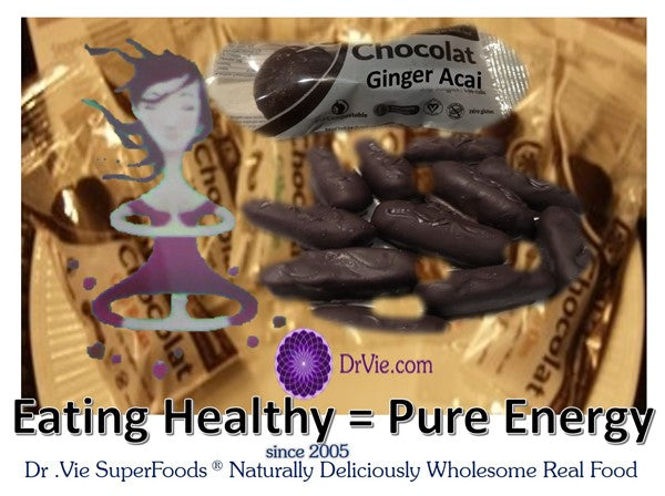 Pure Chocolate Goji Sugar and Gluten Free Vegan Healthy Breakfast Superfood