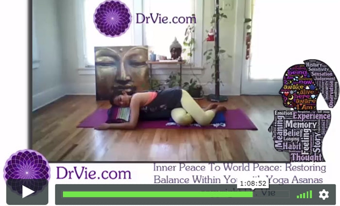 Online Yoga Asanas Class: Stress Relief, Relaxation WellBeing Postures