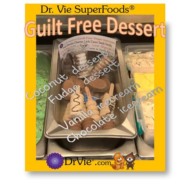 USA CA Guilt Free Dr. Vie SuperFoods No Added Sugar Gluten, Vegan Naturally Delicious