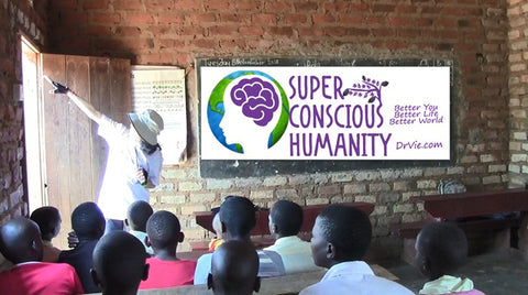 Help our Villages with as little as R150 and Support our Super Conscious Humanity Initiative