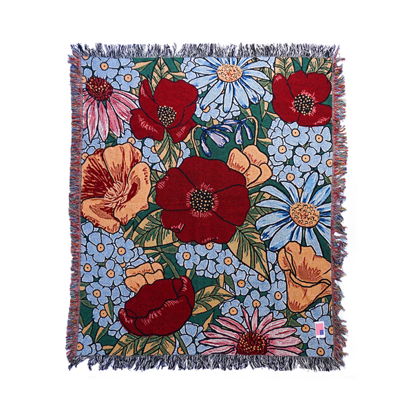Flower Fields Blanket