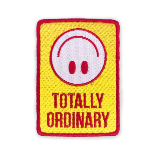 Totally Ordinary Patch