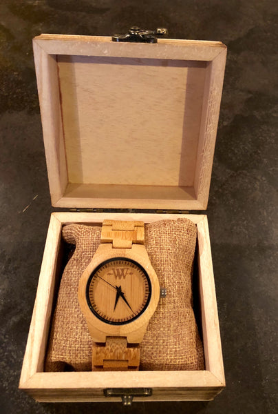WW Nature Bamboo Wooden Women Watch