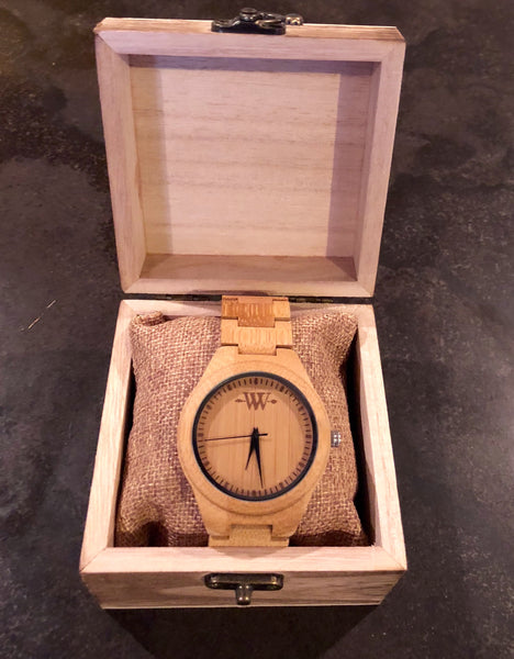 WW Nature Bamboo Wooden Watch