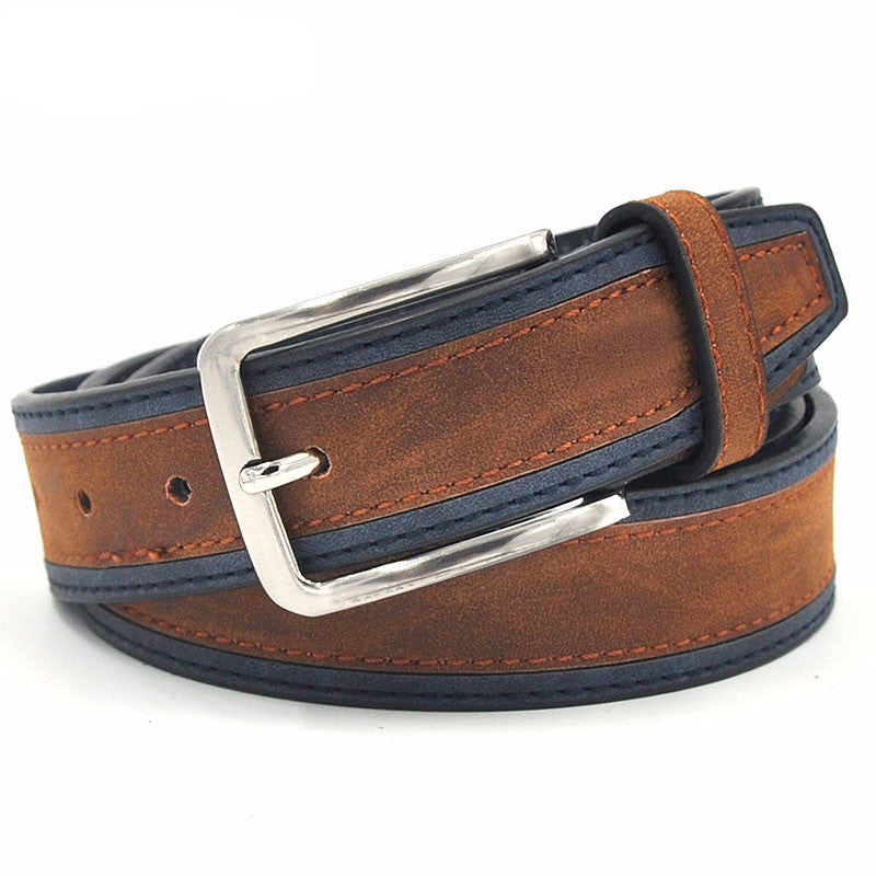 WW Casual Patchwork Men Fashion Belts With Three Color