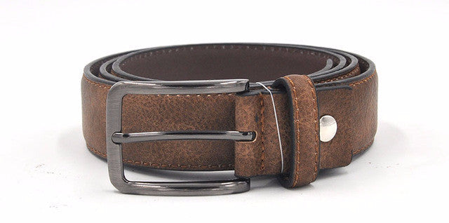 WW Waistband Stylish Men Belts Black/Grey, Dark Brown, And Brown Colors