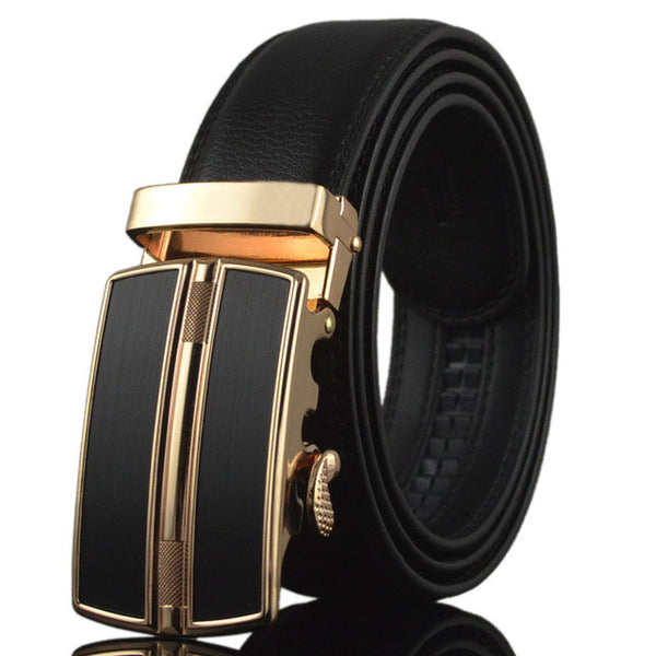 WW Automatic Buckle Luxury Men Belts