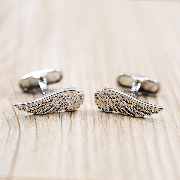 WW Sliver Wing Cufflinks