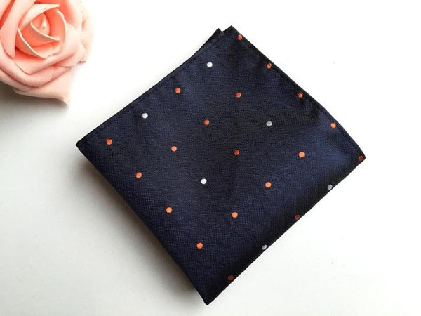 WW Mens Polka Dot Pocket Squares / Handkerchiefs