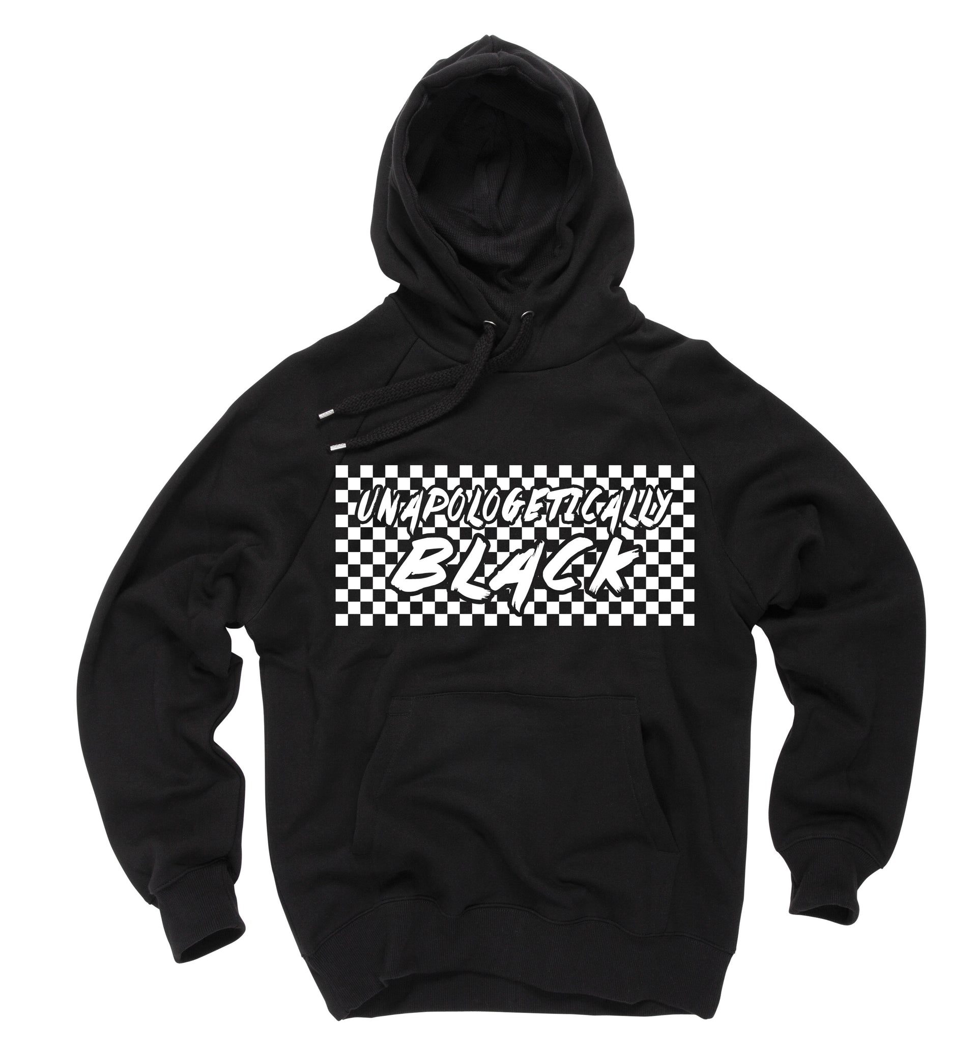 Unapologetically Black Hoodie - Black10.com
