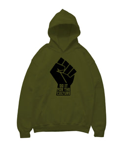 Do It For The Culture Hoodie - Black10.com