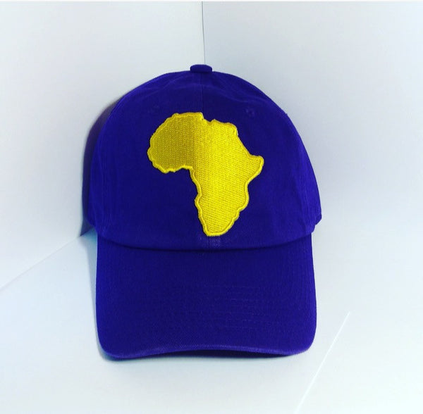Gold Africa Dad Hat