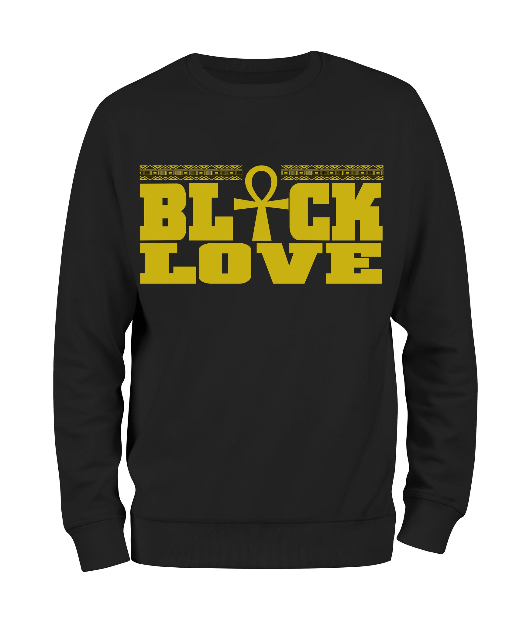 Black Love Sweatshirt - Black10.com
