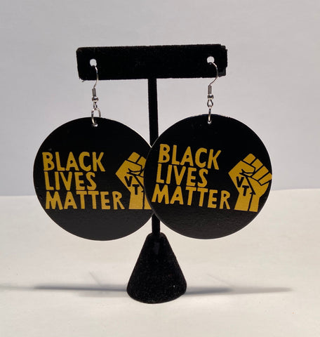 Black Lives Matter Earrings #3