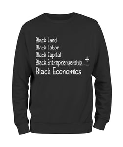 Black Economics Sweat Shirt