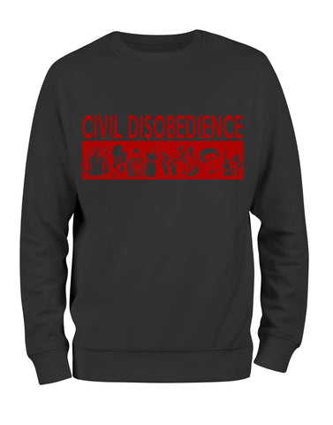 Civil Disobedience Sweatshirt - Black10.com